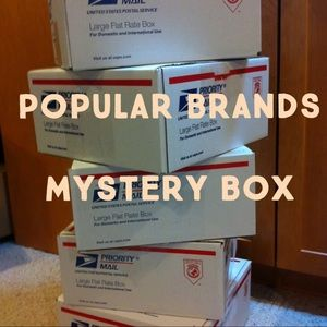 5 items for $30 mystery box!!